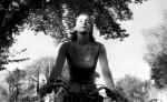 Véronique à vélo